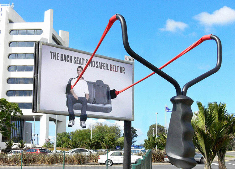 Powerful-Safe Driving-Ads-seat-belt