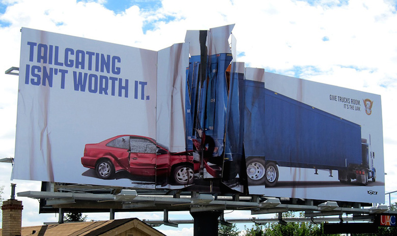 Powerful-Safe Driving-Ads-tailgating-isnt-worth-it