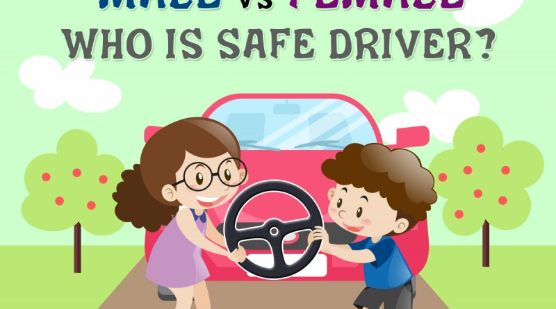 Male VS Female who is safe driver?