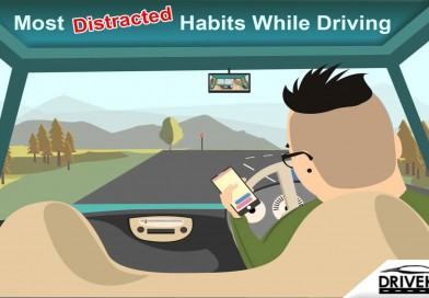 Most Distracted Habits While Driving
