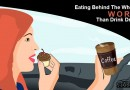 Eating Behind The Wheel is Worse Than Drink Driving?