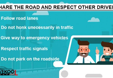 Share the Road and Respect Other Drivers