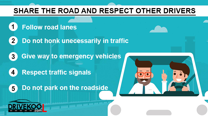 Share the Road Respect other Drivers