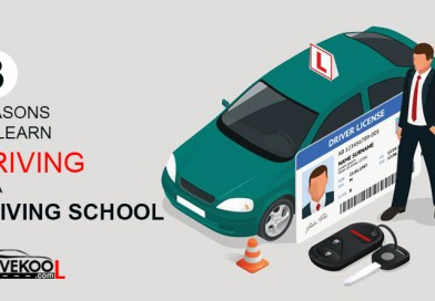3 reasons to learn driving at a driving school