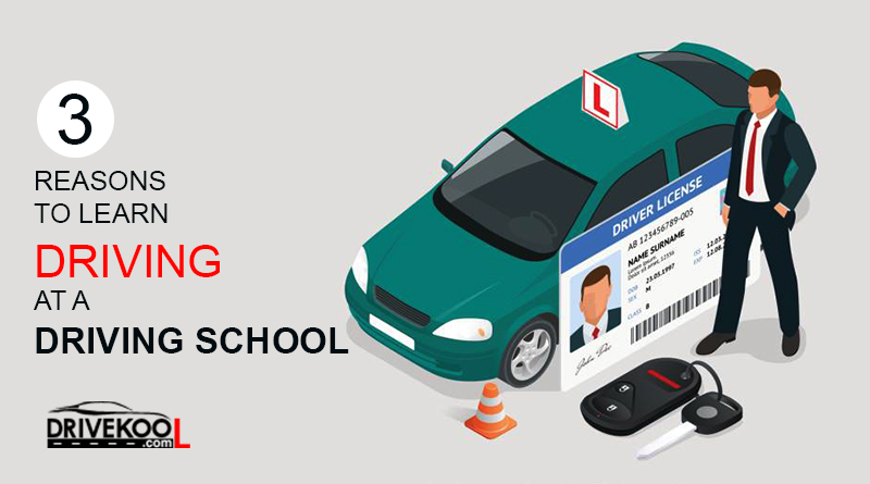 Learn Driving at Driving School