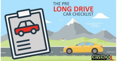 The Pre Long Drive Car Checklist