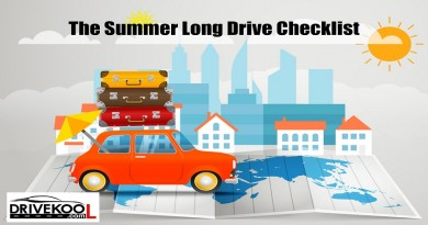 The Summer Long Drive Checklist