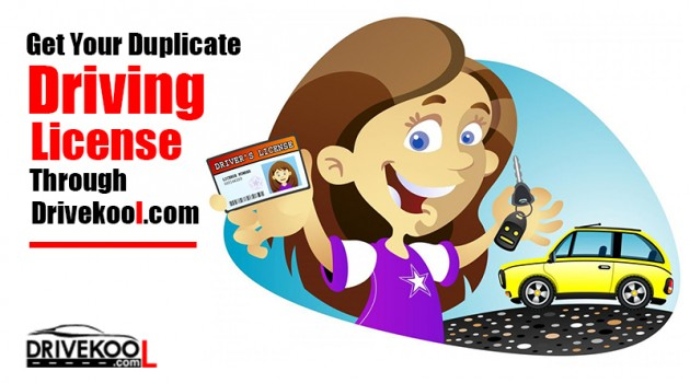 Duplicate Driving license