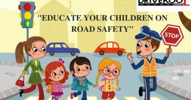 Educate Your Children On Road Safety