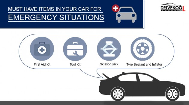 Emergency kit in your Car