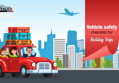 Vehicle safety checklist for Holiday trips