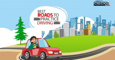 Best roads to practice driving in bangalore,
