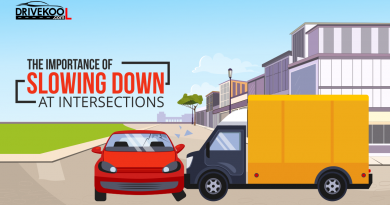 The importance of slowing down at intersections