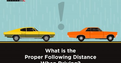 Proper or Safe Distance While Driving