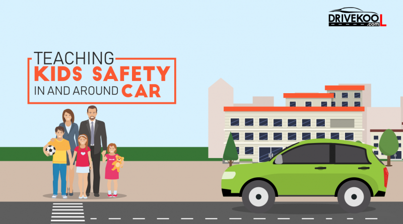Teaching kids safety in and around cars | Drivekool
