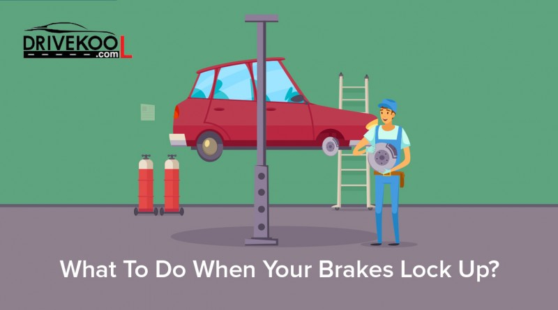 What do you do when your brakes lock up?